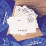 leicester fc guest name cards